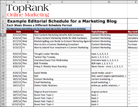 Download Optimize Templates For Keyword Glossary Editorial Plan - Content marketing schedule template