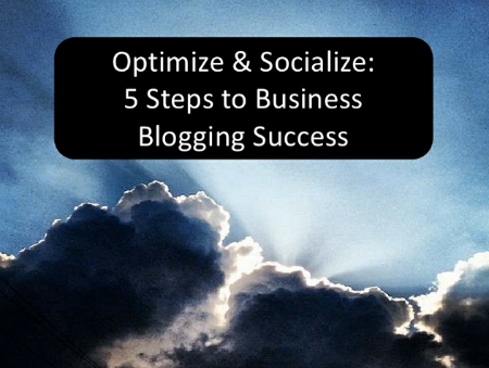 Socialize Optimize Blogging Tips