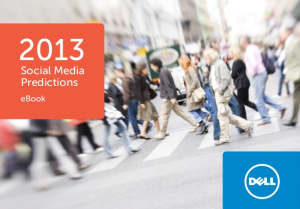 Social Media Predictions for 2013