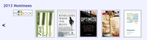 Optimize nominated for book award